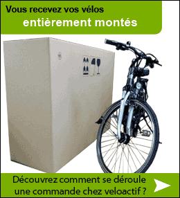 Vos vélos électriques arrivent prêt à rouler