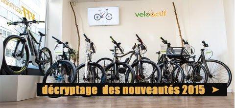 Les vélos électriques 2015