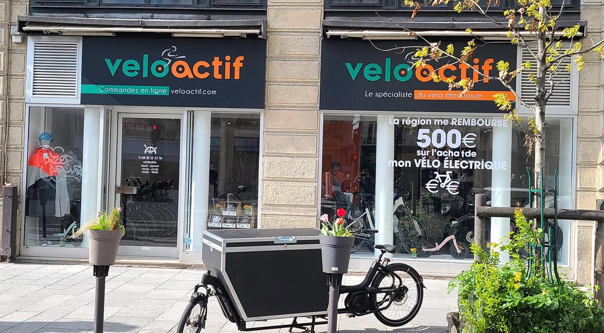 Boutique Veloactif les Halles