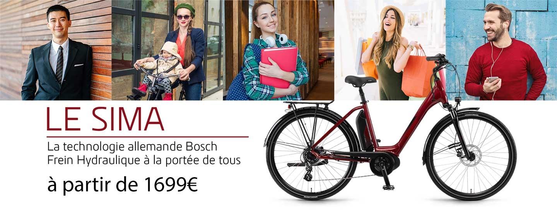 Le vélo par lequel Winora démocratise le Moteur Bosch