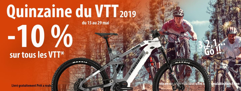 Le retour de la quinzaine du VTT 2019