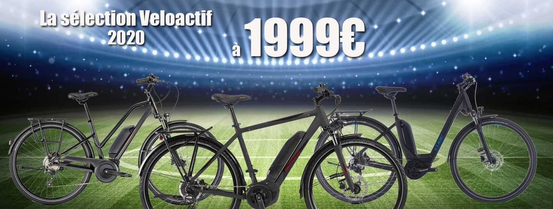 La sélection Veloactif  1999€ 2020