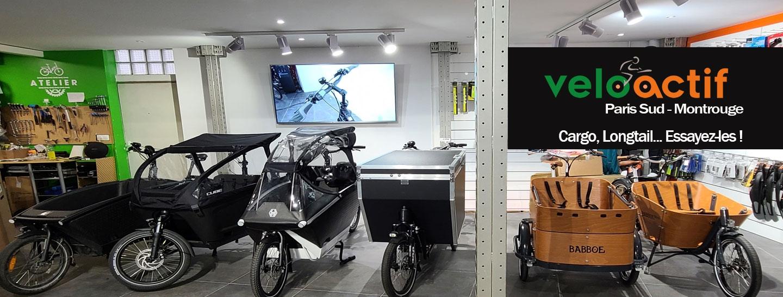 Vélo Cargo Electrique