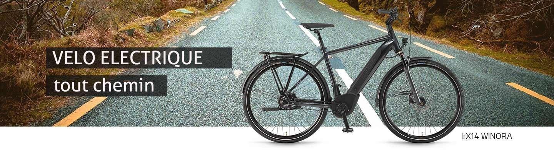 Vélos électriques VTC