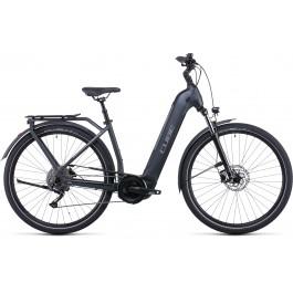 Vélo électrique Kathmandu Hybrid One 500 2022 grey´n´teak Easy Entry CUBE   Veloactif