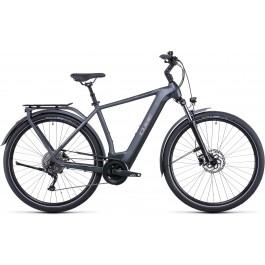 Vélo électrique Kathmandu Hybrid One 500 2022 grey´n´teak Diamant CUBE   Veloactif