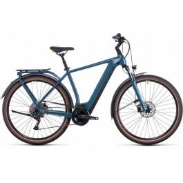Vélo électrique Kathmandu Hybrid One 500 2022  teal´n´lime Diamant CUBE   Veloactif