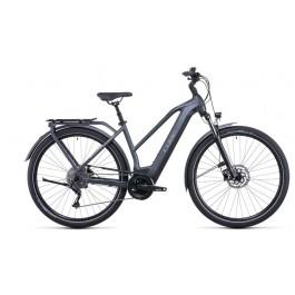 Vélo électrique Kathmandu Hybrid One 500 2022 grey´n´teak Trapèze CUBE   Veloactif