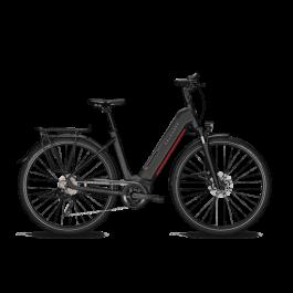 Vélo électrique Endeavour 5.B Season monotube noir et rouge KALKHOFF   Veloactif