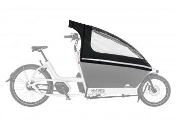 Tente de pluie pour vélo électrique biporteur URBAN ARROW Family   Veloactif