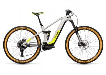 Vélo électrique Stéréo Hybrid 140 HPC Race 625 grey'n'yellow 2021 CUBE | Veloactif