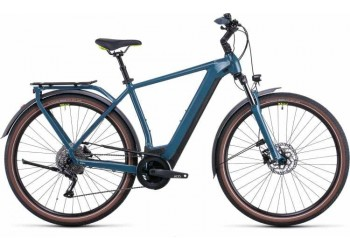 Vélo électrique Kathmandu Hybrid One 500 2022  teal´n´lime Diamant CUBE | Veloactif