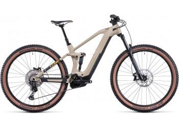 Vélo électrique Stéréo Hybrid 140 HPC 2022 desert´n´orange CUBE   Veloactif