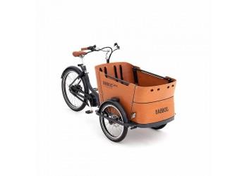 Vélo cargo électrique triporteur Curve Mountain BABBOE | Veloactif