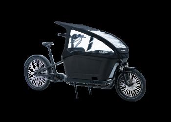 Tente de pluie pour vélo cargo électrique CUBE | Veloactif