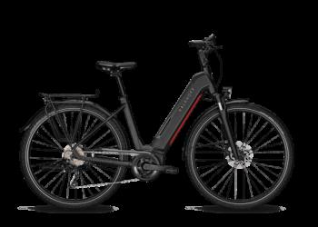 Vélo électrique Endeavour 5.B Season monotube noir et rouge KALKHOFF | Veloactif