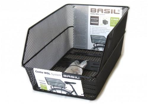 Panier arrière Cento WSL BASIL   Veloactif