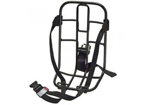 Support multifonction sur vélo électrique Vario Rack KLICKFIX | Veloactif